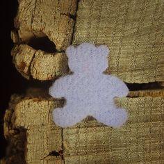 Teddy Bear 2.5cm  Lilac  100 by Craft365.com ~US$4.90