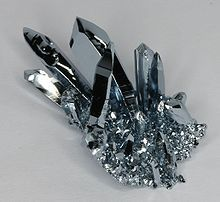 Osmium Crystals- These are beautiful