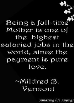 Full time #mother pure #love