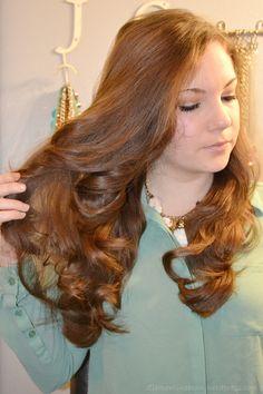 No heat overnight curls using three tube tocks.