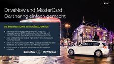 #DriveNow und #MasterCard: #Carsharing einfach gemacht