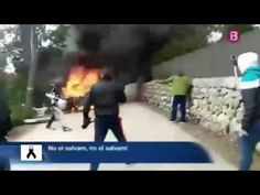 Burning Car | Car Crash Accident Spain - Rally Oris 2015 - http://www.nopasc.org/burning-car-car-crash-accident-spain-rally-oris-2015/