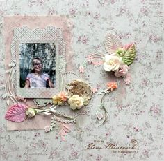 Spring Layout by Elena Olinevich product by Maja Design. Papers from Vintage Romance.    #layout #LO #lo #scrapbooking #scrapbook #scrapping #scrap #papercraft #papercrafting #papercrafts #majadesign #majadesignpaper #majapapers #inspiration #vintage
