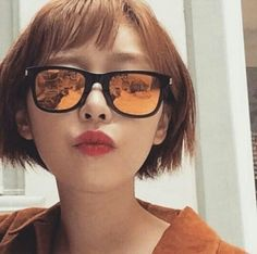 Ga In Responds to Rumors over Sex Tape Permed Hairstyles, Modern Hairstyles, Popular Hairstyles, Korean Makeup Look, Korean Beauty, Hair Styles 2016, Long Hair Styles, Digital Perm, Choppy Bangs