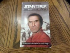 """The Eugenics Wars Vol. 1 by Greg Cox  2002, Paperback Star Trek """"I finally figured out why my Mom loved """"The Wrath of Khan"""" best!"""" -Amy"""