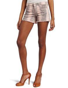 Joe's Jeans Women's Printed Cut Off Short Joe's Jeans. $108.75. Short. Machine Wash. 93% Cotton/6% Polyester/1% Lycra. Print