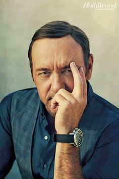 Kevin Spacey scored the cover of The Hollywood Reporter magazine's latest issue