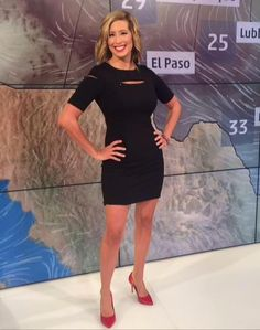 Stephanie Abrams, a noticeable TV meteorologist with tall height & fit measurements, has lured many people. Beautiful Celebrities, Gorgeous Women, Amazing Women, Itv Weather Girl, Stephanie Abrams, Hottest Weather Girls, Female News Anchors, Tv Girls, Bra Cup Sizes