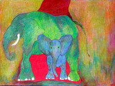 Green Elephant (Schrier's Elephant)