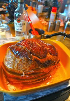 Butter Rum Ham...So many requests for this recipe...I reposted! Amazing moist & tasty!