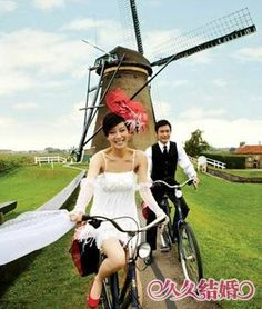 Love this photo for a Dutch wedding