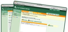 """Welcome to CAST Science Writer, the tool that supports students in writing lab and class reports. This tool is geared toward middle school and high school students. Check out the supports and help available in Science Writer described below. Or click the """"Take a Tour"""" button above to see how Science Writer works."""