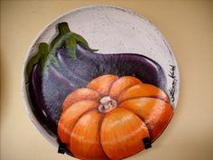 Pintura em prato de cerâmica