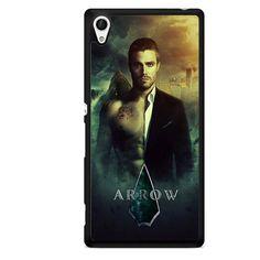 Arrow Oliver Quenn Half Nude TATUM-973 Sony Phonecase Cover For Xperia Z1, Xperia Z2, Xperia Z3, Xperia Z4, Xperia Z5