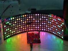 "62.99$  Watch here - http://ali5z7.worldwells.pw/go.php?t=32675652082 - ""256LEDS/Pcs WS2812B Build-in RGB addressable 32*8pixels LED Digital Flexible Panel"
