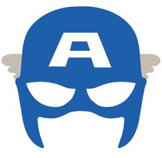 Captain America Mask SVG DXF Captain America Cut File Clipart - Visit to grab an amazing super hero shirt now on sale! Captain America Maske, Captain America Party, Captain America Birthday, Avengers Birthday, Superhero Birthday Party, Boy Birthday, Batman Party, Birthday Parties, Avenger Party