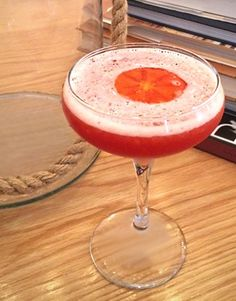 New spicy summer drink: Cocktail + beet syrup recipe by Head Bartender at Pacci Restaurant, Sidney Lance.