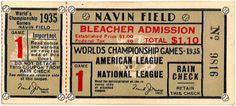 atimetoget.com. vintage baseball tickets. world series, 1935.