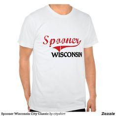 Spooner Wisconsin City Classic Tee Shirt