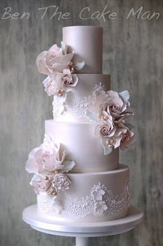 Ben the Cake Man Wedding Cake Inspiration