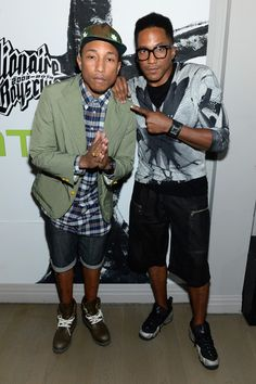 Pharell and Q-Tip