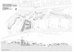 implantacion, emplazamiento - FLores Prats (edificio111)