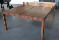 Artisan ping pong dining table