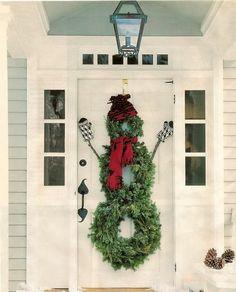 Novel Christmas Snowman