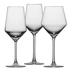 Find Schott Zwiesel Pure stemware collection at Party Pro Rentals Tulsa