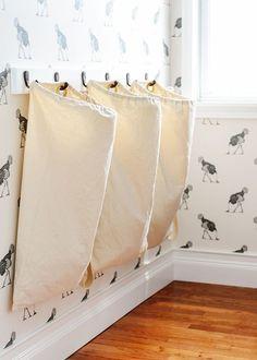 Denken Sie kreativ! Basteln Sie selber Ihren Wäschekorb!