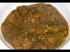 Gongura Mutton - Sorrel Leaves Lamb Curry - By VahChef @ VahRehVah.com