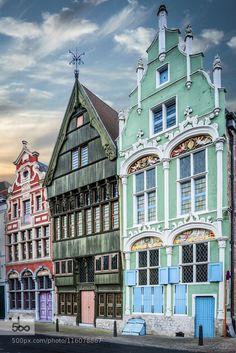 Mechelen Den Duivel en 't Paradijs 16th cent. by denisderidder