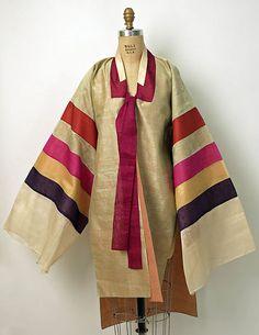Pictured here is a Korean wedding robe displayed at the Metropolitan Museum of Art. Modern Hanbok, Korean Wedding, Korean Dress, Beautiful Dresses, Vintage Dresses, Kimono Top, Women Wear, Metropolitan Museum, Clothes