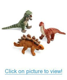 """Cute Dinosaur Plush --> more expensive but also more lasting dino's that guests could """"adopt"""" as favors :) Cute Dinosaur, Dinosaur Stuffed Animal, Stuffed Animals, Geek Toys, Dinosaur Party Favors, Niece And Nephew, Inevitable, Animals For Kids, Disney Movies"""