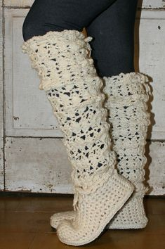 Crochet Boots Pattern5 Styles in 1LEGWARMER BOOTS by OnWillowLane, $5.00