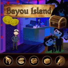 Bayou Island - http://www.funtime247.com/action/bayou-island/ - Explore the mysterious Bayou Island in this charming old school point & click adventure game!