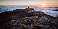 Meditation at Blairgowre Back beach, Australia