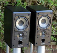 MISSION 751 bookshelf stand mount speakers