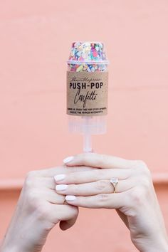 Push Pop Confetti!  Celebrate!