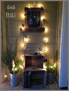 Piccoli Brags: Infine, un portico di Natale