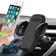 Bike Phone Mount 360 Degree Swivel Bicycle Cell Phone Holder with Silicon Support iPhone Holder Compatible with iPhone 11 Pro Max//X//XR//XS MAX//8//7 Plus Samsung Galaxy S10//S10e//S9