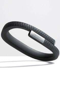 Jawbone UP Medium - Onyx Black - Viihde-elektroniikka - 55 € Jawbone Up, Fitbit Flex, Medium, Black, Black People, Medium Long Hairstyles