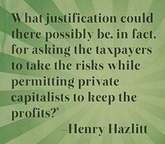 hazlitt on crony capitalism
