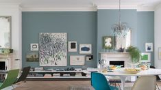 Dining Room Paint Colors, Living Room Color Schemes, Living Room Colors, Living Room Sets, Living Room Designs, Living Room Decor, Bedroom Decor, Lounge Decor, Oval Room Blue