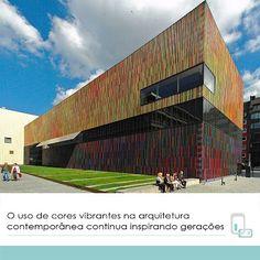 HelaineGomes: O uso de cores vibrantes na arquitetura  contempor...