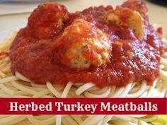 Herbed Turkey Meatballs #Recipe #nom #food
