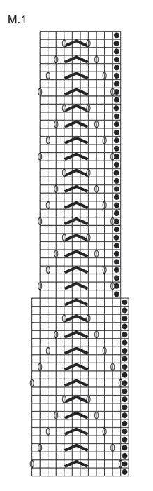 """Strikket DROPS poncho med hullmønster i """"Vivaldi"""". Str S - XXXL ~ DROPS Design"""