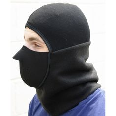 Men Black Balaclava Extreme Cold Pull Over Hoodie with Face Protector New NWT Blue Army, Army Green, Balaclava, Green And Orange, Men's Accessories, Beanies, Black And Grey, Winter Hats, Baseball Hats