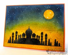 Sunny Summer Crafts: Chocolate Baroque Colour Challenge #8: Arabian Nights
