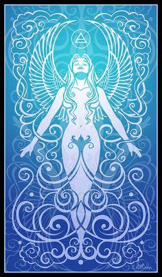 Air Spirit by Cristina McAllister - Air Spirit Digital Art - Air Spirit Fine Art Prints and Posters for Sale